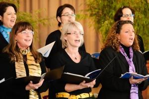 Eindeutig: singen macht Spaß!