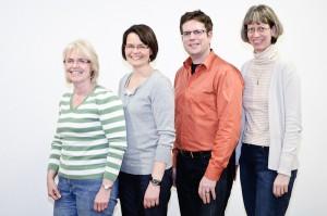 Der neue Vorstand v.l.n.r. Dr. Patricia Nischwitz, Petra Ruppel, Christoph Köllner, Dr. Sigrid Benfer