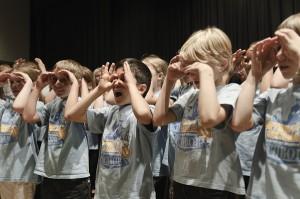 Chor der Hartmutschule Eschborn