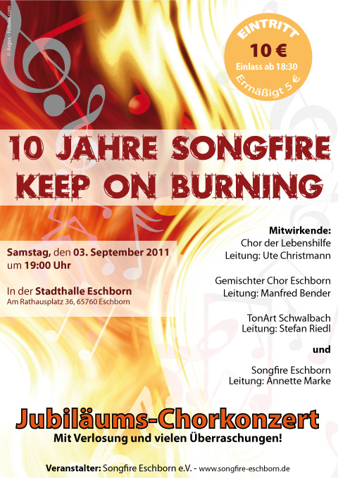 10 Jahre Songfire - Keep on burning