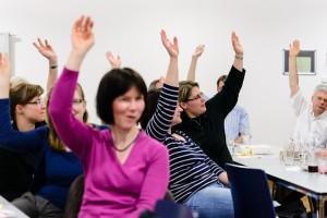 Songfire - Jahreshauptversammlung 2012 - Der Vorstand wird entlastet